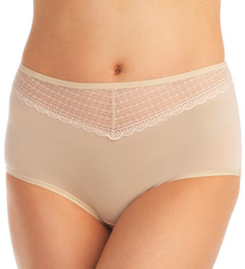 Vanity Fair Beautifully Smooth With Lace Briefs Panties