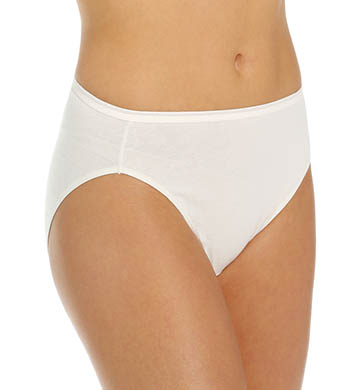 Vanity Fair True Comfort Cotton Hi-Cut Panty - 5 Pack