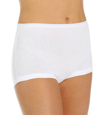 Vanity Fair Lollipop Legband Brief Panties - 3 Pack