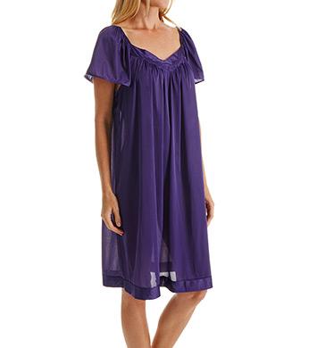 Vanity Fair Coloratura Flutter Sleeve Gown