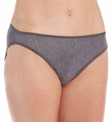 Vassarette Silken Heather Hi-Cut Panty