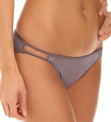 Vassarette Silken Heather String Bikini Panty