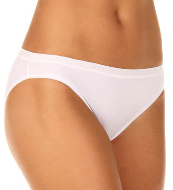 Vassarette Microfiber No Ride Up Bikini Panty