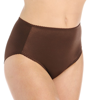 Vassarette Undershapers Smoothing Hi-Cut Brief Panty