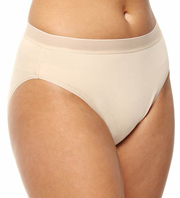 Wacoal Cotton Suede Tailored Hi Cut Brief