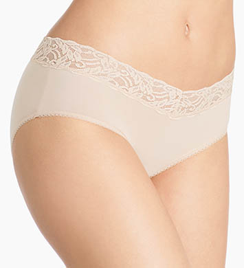 Wacoal Cotton Suede New Hipster Panty