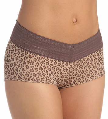 Warner's No Pinching No Problem Lace Boyshort Panty