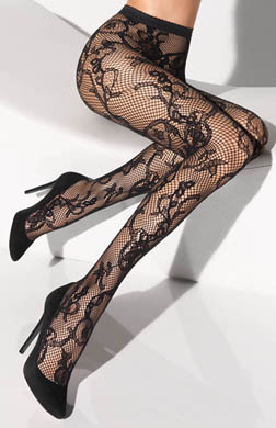 Wolford Victorienne Tights