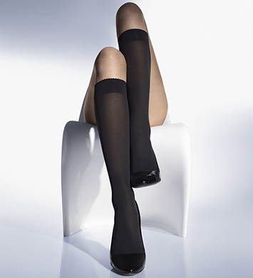 Wolford Velvet De Luxe 50 Knee Highs