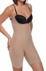Xess Open Bust Mid Thigh Shaper 5500