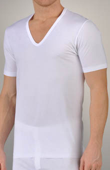 Pure Comfort V-Neck Short Sleeve Shirt