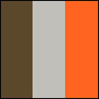 Grey/Orange/Army