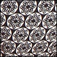 Black Tapestry Print