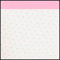 White Sachet Mini Dots