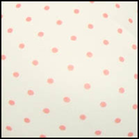 Just Peachy Dot Print