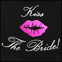 Black Kiss the Bride