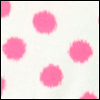 Ikat Dot Bright Coral