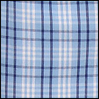 Schmitt Plaid-Aqua