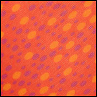 Mandarin Dot Print