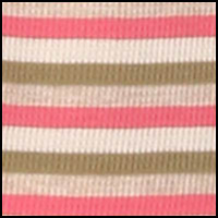 Rose Olive Stripe
