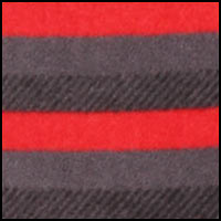 Red Grey Stripe