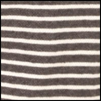 Charcoal/White Stripe