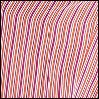 Hot Orange Stripe