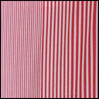 Red/White Candy Stripe