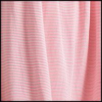 Raspberry White Stripe