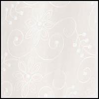 White w/ Embroidery