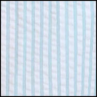 Aqua/White Stripe