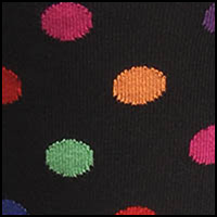 Black MultiColorDot