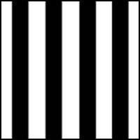 Black Surfside Stripe