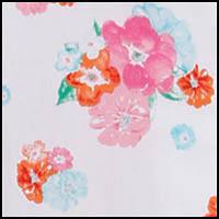 White Confetti Floral