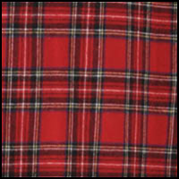 Red Mult Yarn Plaid