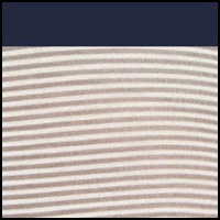 Steel Grey Stripe/Navy