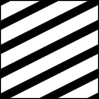 Black/White Zig Zag