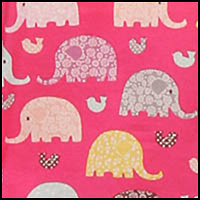 Elephants/Fuchsia