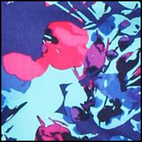 Blue/Floral