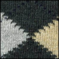 Dark Grey Argyle