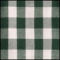 Green/Cream Gingham