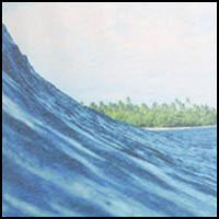 Blue Wave Print