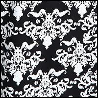 Black Faux Lace