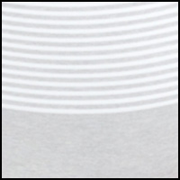 Heathered Band Stripe
