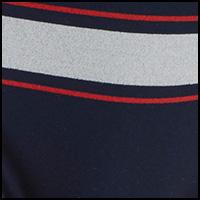 Peacoat Logo Stripe