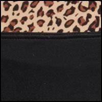 Black w/Animal waist