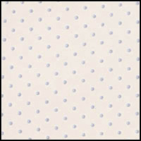 Ivory/Blue Dots