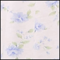 White/Peri Floral