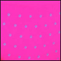 Pink Glo Dots Print