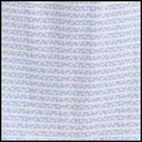 Striped Ditsy Blue